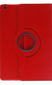 360 Degree Rotating Design PU Full Body Case with Stand for iPad Air (Assorted Colors)