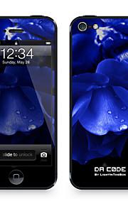 """Da Code ™ Skin voor iPhone 4/4S: """"Dark Hydrangea"""" (Planten-serie)"""