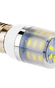 4W E26/E27 LED-kornpærer T 24 SMD 5730 960 lm Kjølig hvit AC 220-240 V