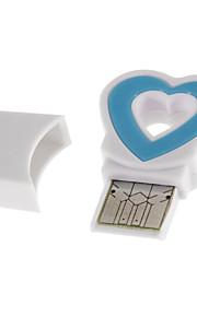 USB 2.0 Memory Card Reader (Lila / Rose / Gelb / Blau)