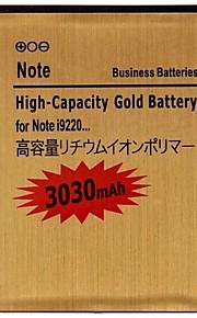 3.7V 3030mAh Vervangende Lithium-ion batterij voor Samsung Galaxy Note i9220