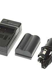 ismartdigi 1700mAh camera batterij + autolader voor canon eos 300d 10d 20d 30d 40d 50d EOS 5D kus x50 T3 EOS 1100D