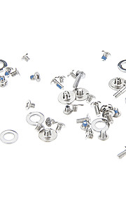 Silver Repairing Parts Metal Screws Set for iPhone 4/4S