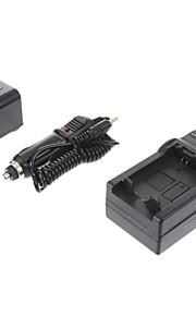 ismartdigi-Sony NP-FV70 2060mah, 7.2V camera batterij + Car Charger voor Sony XR350E XR550E SR68E FV100/FV50