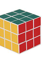 55 milímetros 3x3x3 velocidade enigma Magic Cube Branco Borda