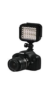 CN-LUX480 48 LEDs Video Light Foto Lampe til Canon Nikon kamera videokamera 5600K / 3200K