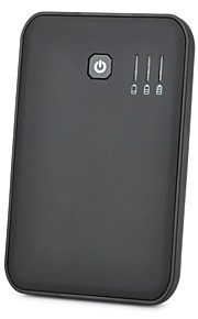 External 5000mAh Emergency Mobile Battery Power Charger for iPhone / iPad / Cell Phone / MP3 - Black