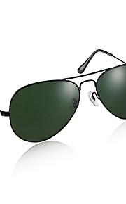 UV400 Køre solbriller (sort ramme grønne linser)