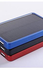 4000mAh polisilicio caricatore solare batteria esterna per iPhone / / cellulari / dispositivi mobili samsung
