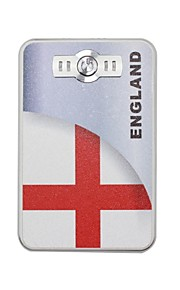 The World Cup Portable 6000mAh Power Bank with 4 in1 Connector (5V 1A , 5V 2A)(England)