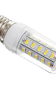7W E26/E27 LED-kornpærer T 36 SMD 5730 650 lm Varm hvit AC 220-240 V
