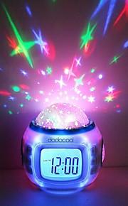Musikk Starry stjerne Sky Projection vekkerklokke kalenderen termometer