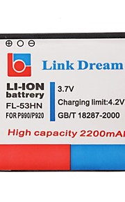 Enlace Sueño 3.7V 2200mAh de la batería del teléfono celular para LG P990/P993/P999/P920/M735 (FL-53HN)