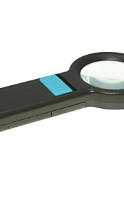 Handheld 55mm 5X Magnifier with 8-LED Illumination