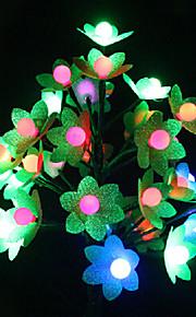 Novelty Flower Shape Plastic Bordlampe