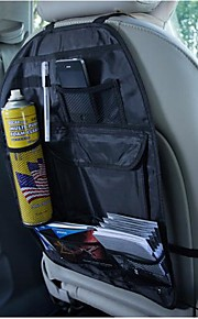 Back Seat Multi Pocket Storage With Dustproof Protective Sleeve
