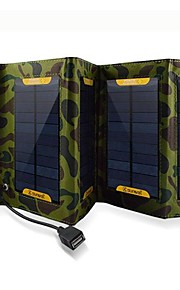 7W USB Output Foldable Solar Battery Charger for iphone6/6plus/5S Samsung S4/5 HTC and other Mobile Devices