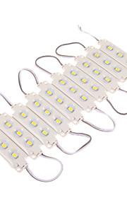 12W 30x5630SMD 1100-1300LM 3000K varm hvit LED lys Plastic Shell rektangel Module (DC 12V)