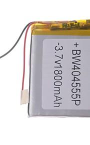 "Universele vervanging van 3.7V 1800mAh Li-polymer batterij voor 7 ~ 10 ""Macbook Samsung Acer Sony Apple Tablet PC (4 * 45 * 55)"