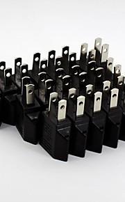 ronde platte stekker converter (20 / pak 110v-240v)