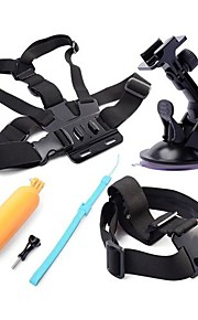 Gopro Accessories Screw / Suction / Head Straps / Chest Strap For Gopro Hero 5 Other