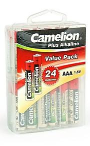 camelion plus alkaline AAA batterij in de verpakking doos van 24 stuks