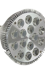 E26/E27 15 W 15 Høyeffekts-LED 1500LM LM Varm hvit/Kjølig hvit Dimbar Parlamper AC 220-240/AC 110-130 V