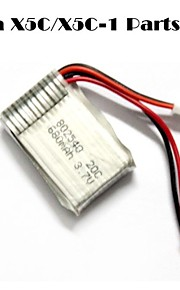 Syma x5C / x5C-1 exploradores partes x5C-11 3.7v 500mAh 3.7V 680mAh atualização lipo w / JST