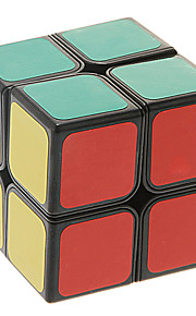 bolso mola de regulação 2x2x2 Jiguang Shengshou cubo mágico (preto)
