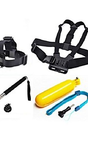 Chest Harness Front Mounting Monopod Screw Straps Hand Grips/Finger Grooves For Gopro 5 Gopro 3 Gopro 2 Gopro 3+ Gopro 1