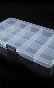 """Porta-Comprimidos para ViagemForAcessórios de Emergência para Viagens Plástico 7.1""""*3.94""""*0.79""""(18cm*10cm*2cm)"""