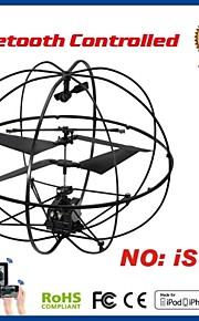 i-helicóptero de controle rc 3.5ch com giroscópio para iphone, ipad e android i717
