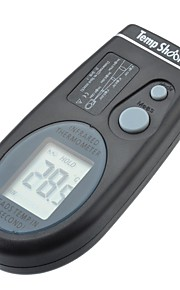 "1.4"" LCD Portable Infrared Thermometer with Red Sighting Laser (-27°F ~ 482°F / 2*CR2032)"
