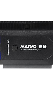 "maiwo k130u2is usb 2.0 HDD Adapter mit Supergeschwindigkeit 2,5 ""/ 3,5"" SATA / IDE"