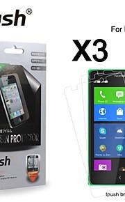노키아 XL에 대한 높은 투명성 HD LCD 화면 보호기 (3 개)