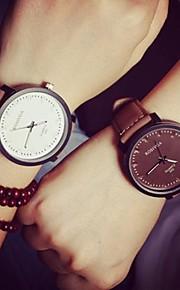 circular relógio cinto de quartzo moda do casal (cores sortidas)