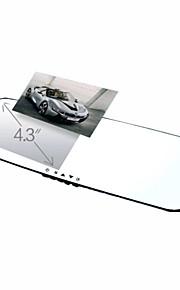 """GT VIEW 4.3""""LCD FHD 1080P Rear view LCD Car DVR"""