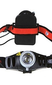 Cykellys (Justerbart Fokus / Vanntett / Nedslags Resistent) - LED 2 / 3 Tilstand 150/350/200 Lumens AAA Cree XR-E Q5 Batteri -