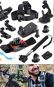 Defery-12-in-1 Outdoor Sports Essentials Kit for GoPro Hero4 Silver Black Hero 4 3+ 3 2