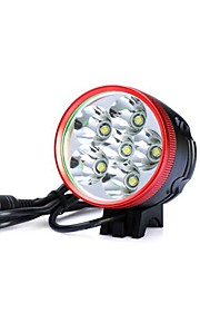 Hovedlygter / Cykellys LED 3 Tilstand 7200lm Lumens Vanntett / Genopladelig / Nedslags Resistent / Night VisionCree XM-L T6 / Cree XM-L