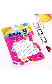 r-sim 9 r-sim9 פרו לטלפון כרטיס 4s 5 5s 5c לפתוח ios 6.0 CDM ספרינט