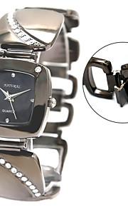 дамские часы квадратной бронзовый браслет часы