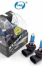 HM® Xenon Plasma 9006 12V 100W Halogen Lamp Headlight White Light Bulbs (a Pair)