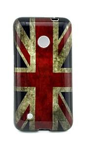 Para Funda Nokia Diseños Funda Cubierta Trasera Funda Bandera Suave TPU Nokia Nokia Lumia 530