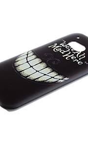 Para Funda HTC Diseños Funda Cubierta Trasera Funda Blanco y Negro Dura Policarbonato HTC