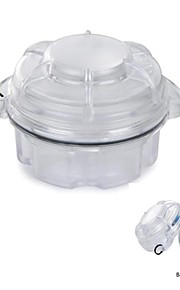 Water-Resistant Drop Protection Storage Box Case Container for Chips / Batteries / Gadgets- White