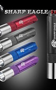 LED Lommelygter LED Tilstand 300 Lumens Lille størrelse Andre AAA Multifunktion / Udendørs - Sharp Eagle , Sort / Blå / Lilla / Rød