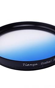 Tianya 67 milímetros circular graduado filtro azul para Nikon D7100 D7000 18-105 18-140 canon 700d 600d 18-135
