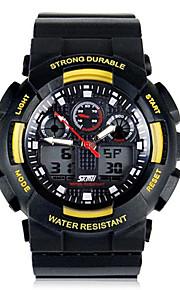 SKMEI ® Men Moda Escalada Dual Time Zona multifunções relógio de pulso à prova d'água 30m cores sortidas