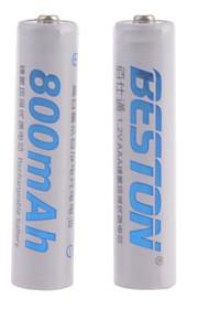 BESTON - Ni-CD - Aaa - Batterij - 800mAh - ( mAh ) - 2 - pcs